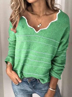 VINTAGE WINTER WOMEN FASHION SOFT SWEATER