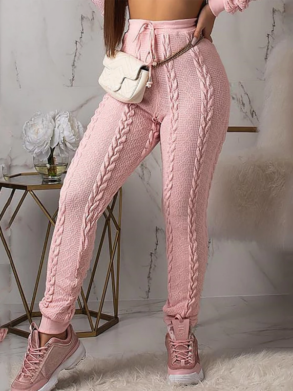WINTER COZY KNITTED PANTS PLUS SIZE WARM PANTALONES