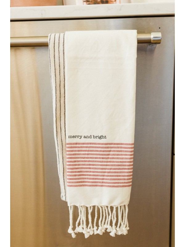 Holly Jolly Hand Towels